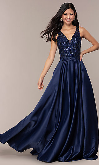 Blue Prom Dresses and Evening Gowns in Blue - PromGirl 7e78f672c