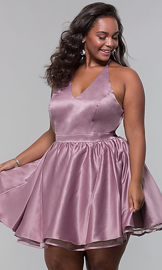 Plus Size Homecoming Dresses Party Dresses Promgirl