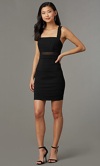 Short LBD with Back Cut Outs