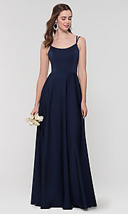 Image of Kleinfeld formal bridesmaid dress with corset back. Style: KL-200151 Detail Image 2