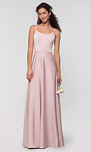 Image of Kleinfeld formal bridesmaid dress with corset back. Style: KL-200151 Detail Image 6