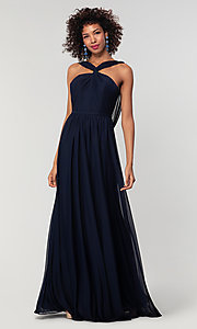 Image of Kleinfeld bridesmaid dress in stretch chiffon. Style: KL-200162 Detail Image 6