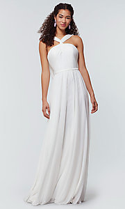 Image of Kleinfeld bridesmaid dress in stretch chiffon. Style: KL-200162 Detail Image 5