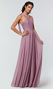 Image of Kleinfeld bridesmaid dress in stretch chiffon. Style: KL-200162 Detail Image 2