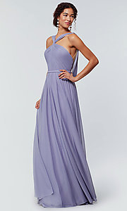 Image of Kleinfeld bridesmaid dress in stretch chiffon. Style: KL-200162 Front Image