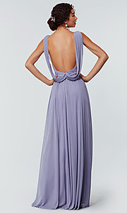 Image of Kleinfeld bridesmaid dress in stretch chiffon. Style: KL-200162 Back Image