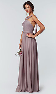Image of Kleinfeld bridesmaid dress in stretch chiffon. Style: KL-200162 Detail Image 4