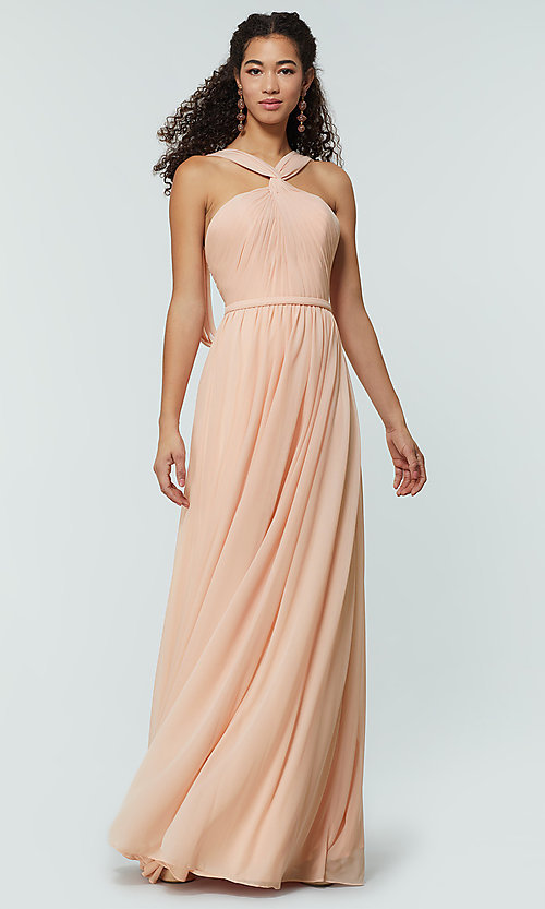 Image of Kleinfeld bridesmaid dress in stretch chiffon. Style: KL-200162 Detail Image 7