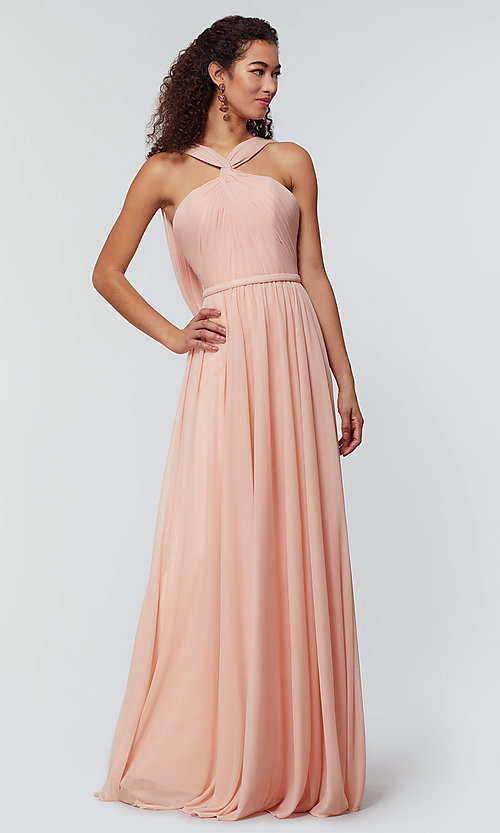 Image of Kleinfeld bridesmaid dress in stretch chiffon. Style: KL-200162 Detail Image 3