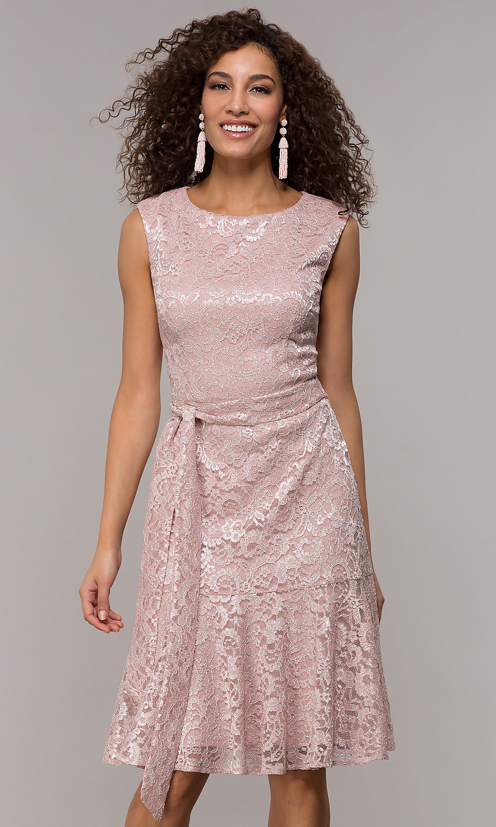 Tap To Expand: Pink Knee Length Wedding Dresses At Reisefeber.org