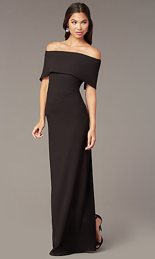 Long Formal Off-the-Shoulder Special Occasion Dress