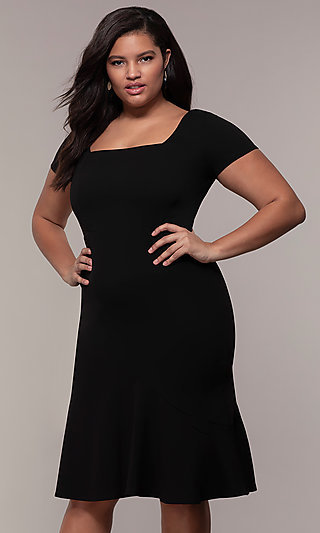 5146388cfe Plus-Size Black Prom and Cocktail Dresses - PromGirl