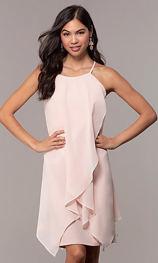 Knee-Length Wedding Guest Shift Dress by Simply
