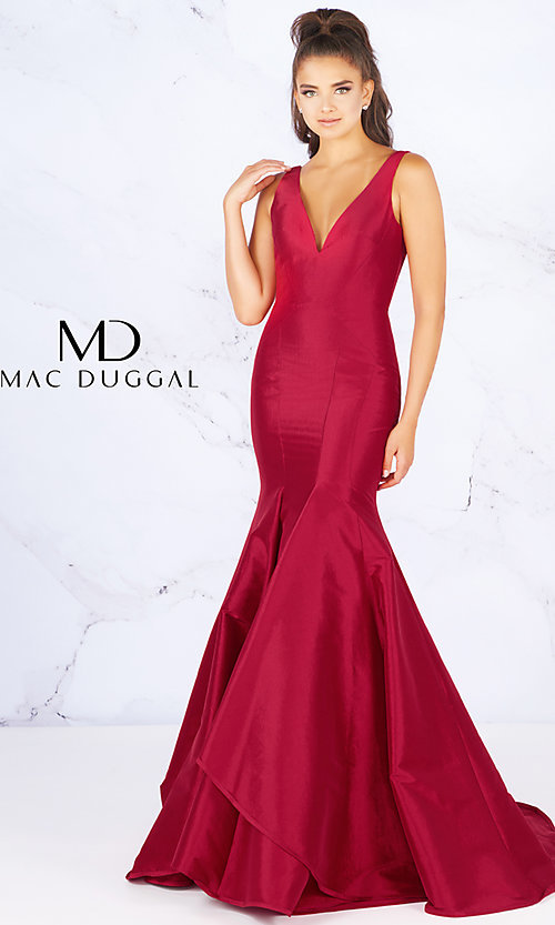 289e9efa032 Mermaid-Style Prom Dress from Flash by Mac Duggal