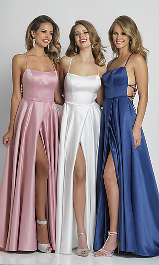 Dave and Johnny Long Prom Dress A6690