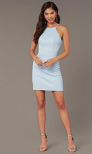 Short Princess-Cut Homecoming Party dress by Alyce