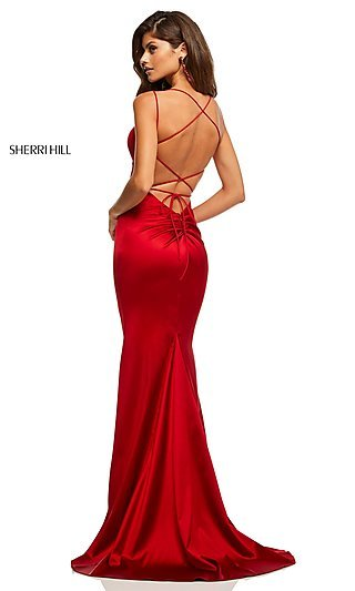 942762ce Sherri Hill Prom Dresses and Pageant Gowns - PromGirl