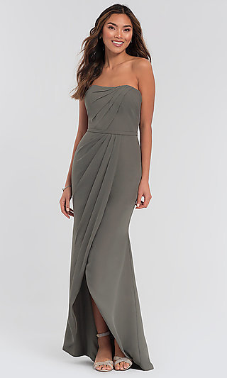 High-Low Bridesmaid Dress by Kleinfeld