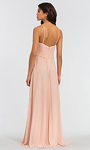 Image of Kleinfeld bridesmaid dress with sweetheart neckline. Style: KL-200039-v Back Image