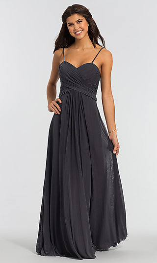 Kleinfeld Bridesmaid Dress with Sweetheart Neckline
