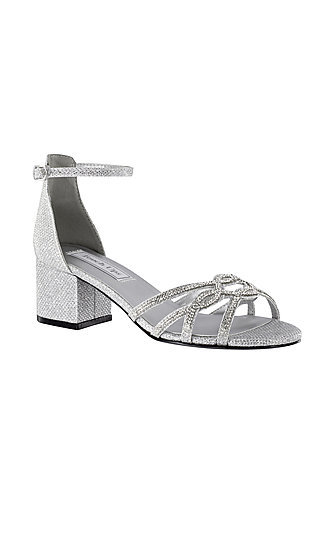Zoey Touch Ups Sandal in Silver