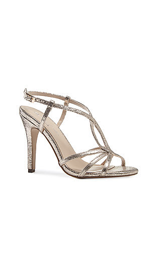 Metallic Champagne Gold Magic Sandal