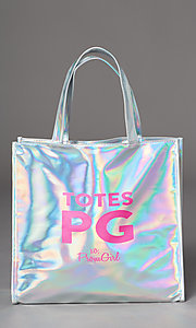 Style: PG-Merch-Tote Detail Image 3