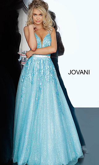 Long Ballgown-Style Prom Dress by Jovani
