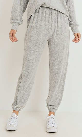 Heather Gray Sweatpants