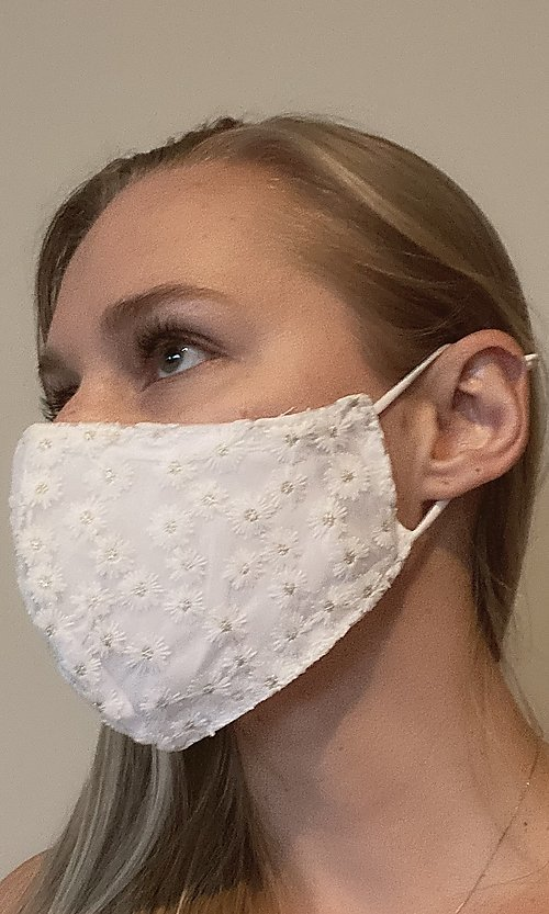 Style: KAC-BES-21-LACE-MASK2-W Front Image