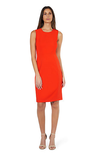Knee-Length Sleeveless Sheath Dress by Marina