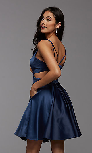 Short Prom Dresses and Cocktail Party Dresses-PromGirl