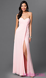 Image of celebrity-inspired prom dress by Faviana Style: FA-6428 Detail Image 1