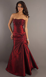 Long Prom Dress Style: SF-29283b Front Image