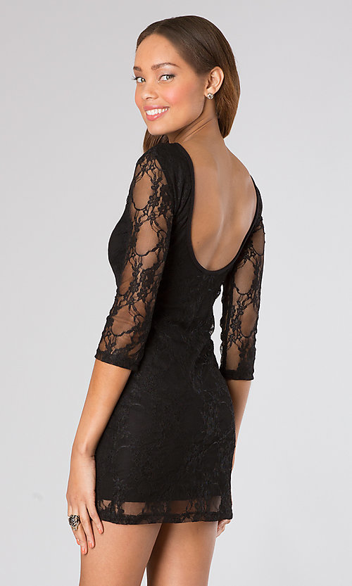 Short Homecoming Dress Style: CH-103 Back Image