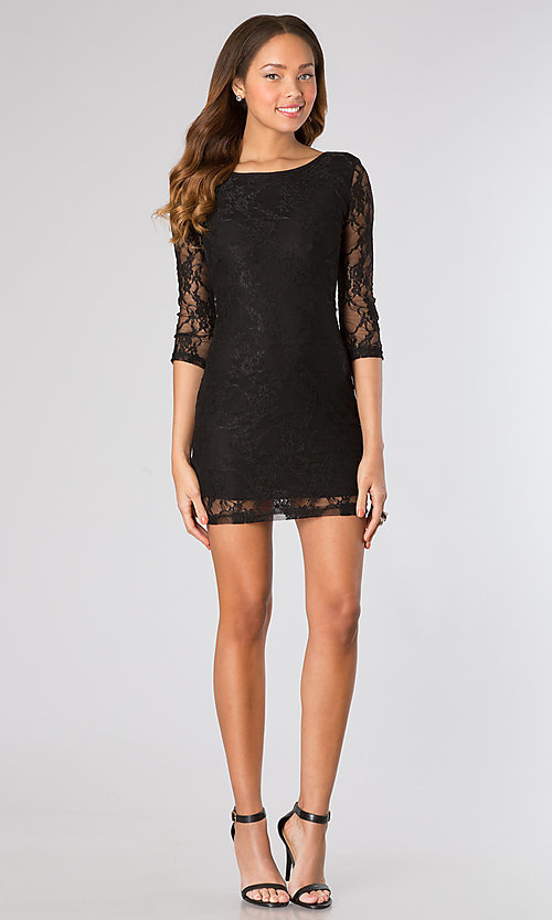 Short Homecoming Dress Style: CH-103 Detail Image 1