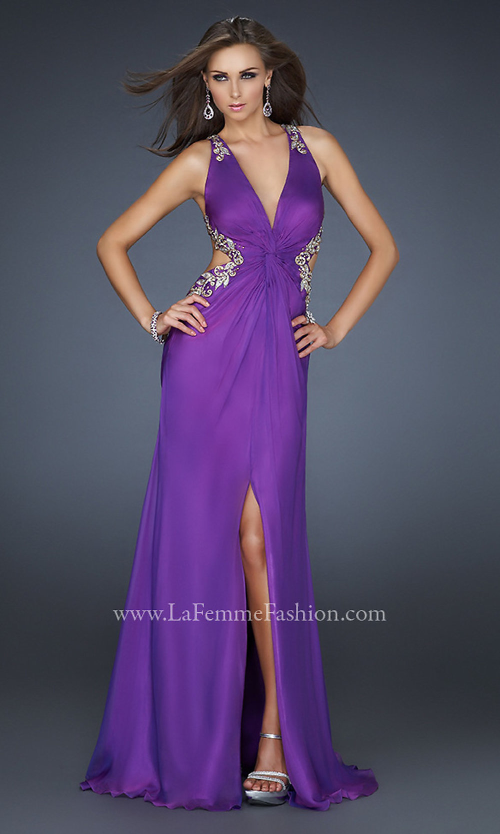 Dorable Low Cut Evening Gowns Pictures - Wedding and flowers ...