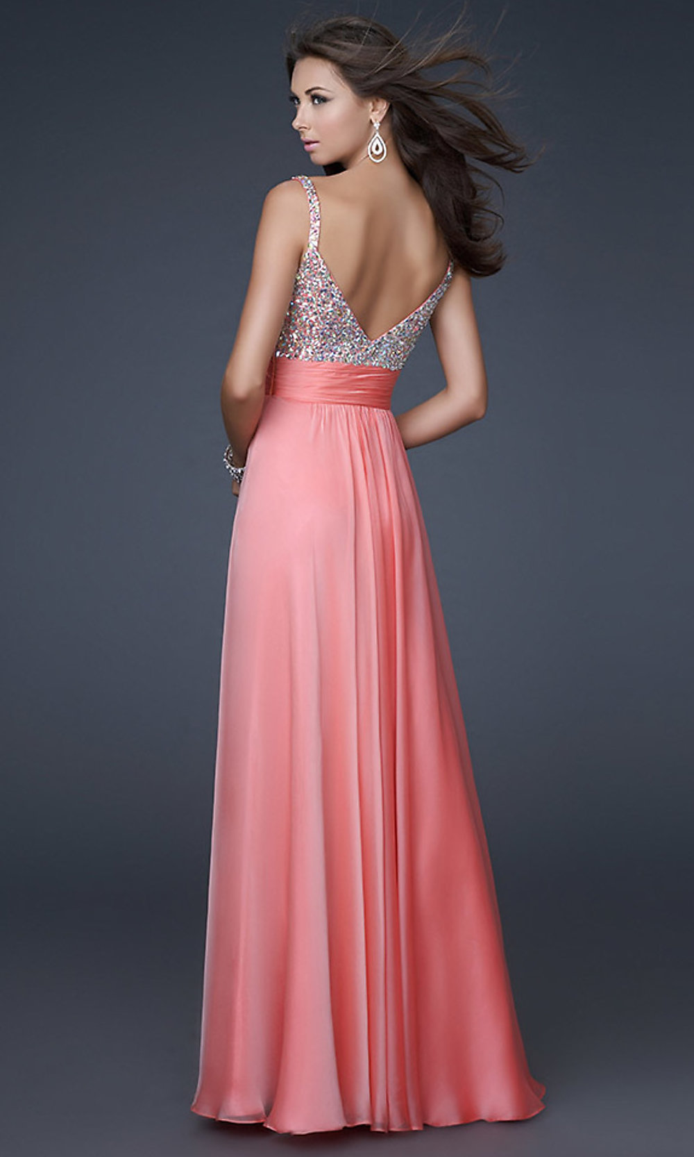 Floor-Length La Femme Prom Dress - PromGirl