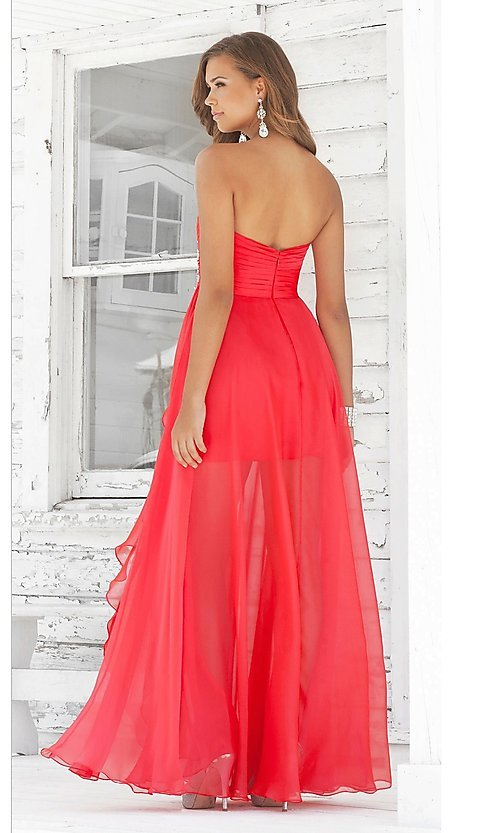 Short Prom Dress Style: BL-9315 Back Image