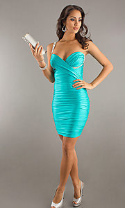 Short Prom Dress Style: AT-7085 Detail Image 1