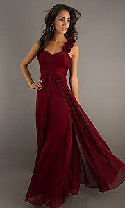 Sleeveless Full-Length Formal Sweetheart Dress