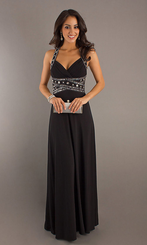 Long Prom Dress Style: DQ-8154 Detail Image 1