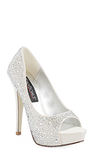 Katie by Tony Bowls - Studded Peep-toe 5