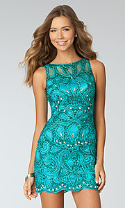 Short Prom Dress Style: AT-AC8606 Front Image