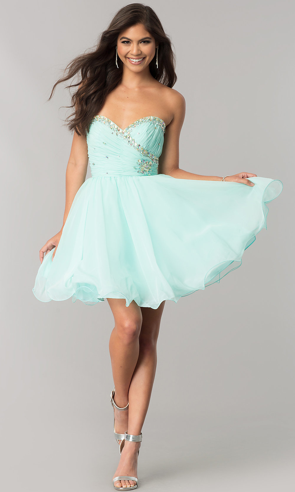Short Strapless Prom Dresses Party Dresses Promgirl