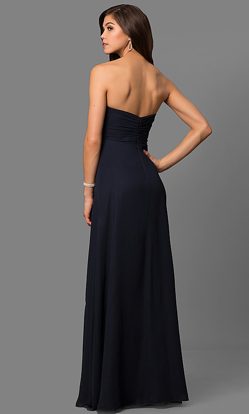 Long Strapless Prom Dress, Prom Gown - PromGirl